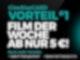 CineStarCard Vorteil #1